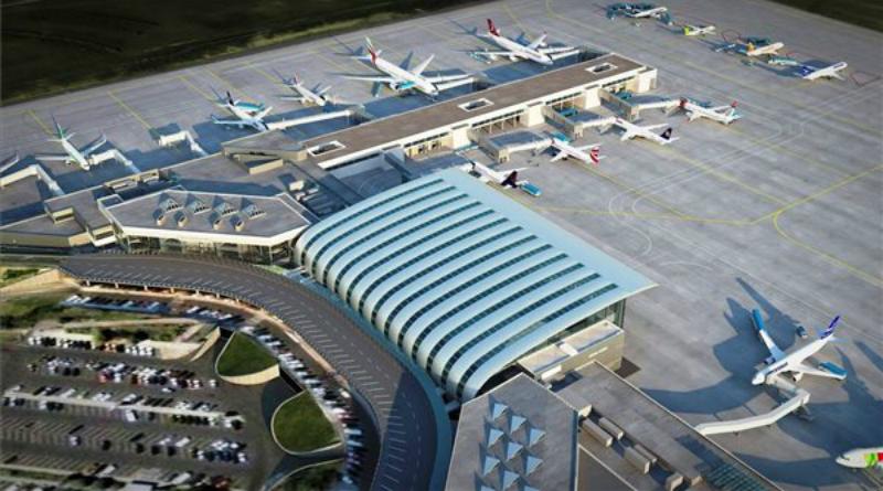 Bombát találtak a reptéren