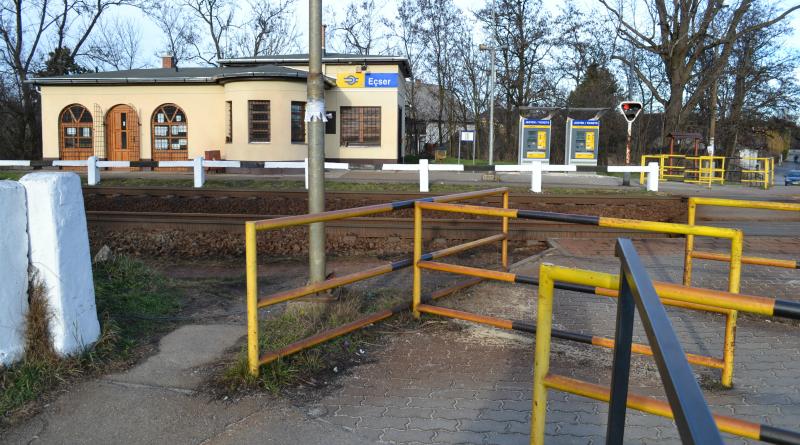 Ecseren saját kézbe vették a vasútállomást