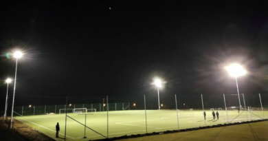 Futballpálya Gyömrőn, a Mendei úton