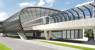 Az M2-es metró lehetséges új vonalszakaszának látványterve