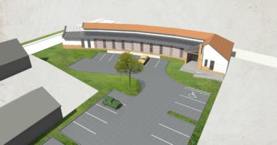 Az új maglódi egészségügyi központ látványterve
