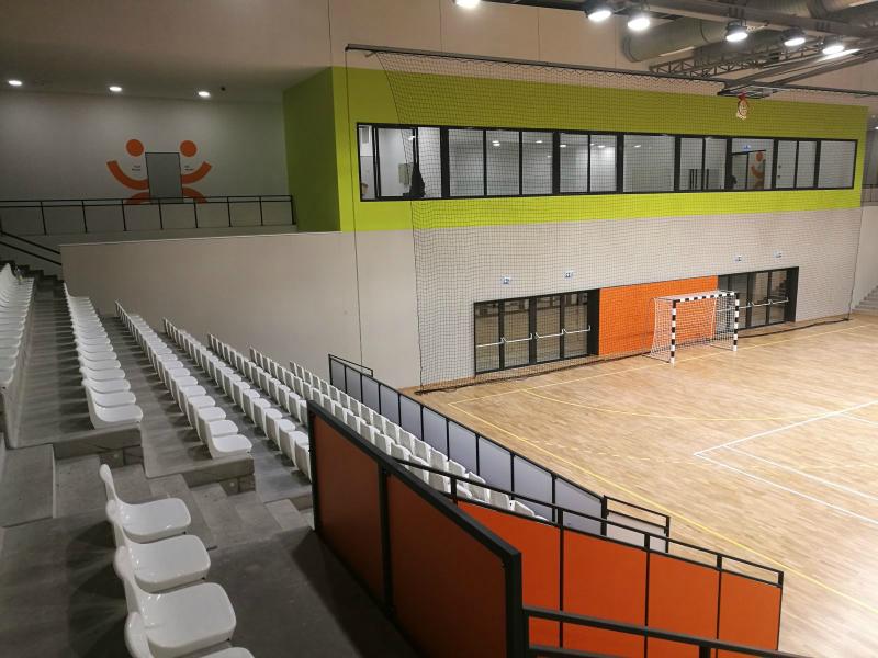 Az új monori sportcsarnok