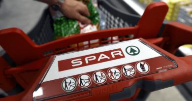 Spar bevásárlókocsi