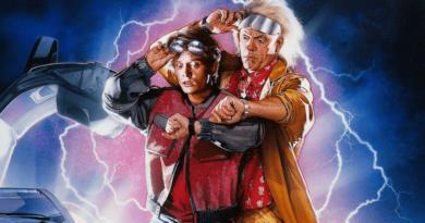 A Vissza a jövőbe című film plakátja
