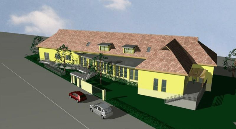 Látványterven az ecseri intézménybővítésLátványterven az ecseri intézménybővítés