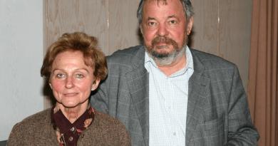 Vathy Zsuzsanna, és férje, Lázár Ervin