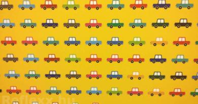 grafika sok kis autóról