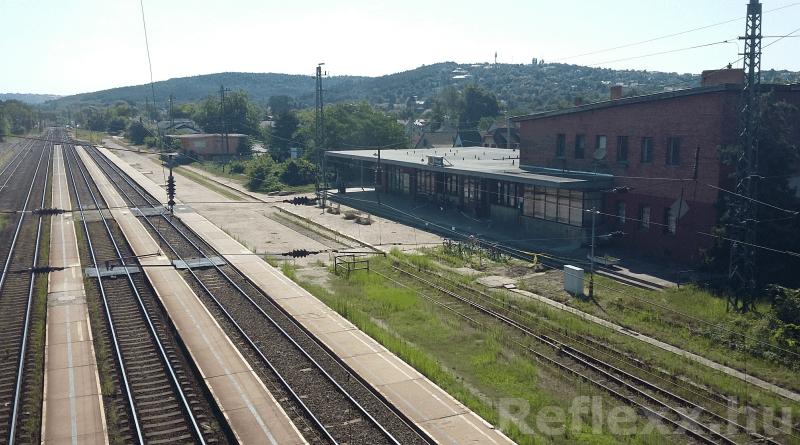 A péceli vasútállomás (Fotó: Reflexx)