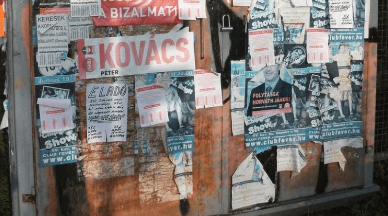 Végre eltűnhetnek a választási plakátok